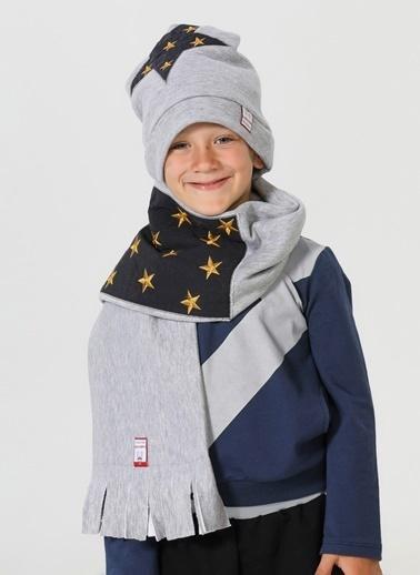 Lupiakids Star Şapka+Kaşkol Renkli